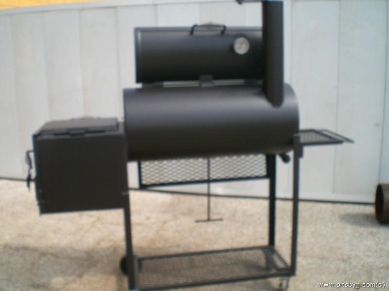 bbq pits by jj. Black Bedroom Furniture Sets. Home Design Ideas
