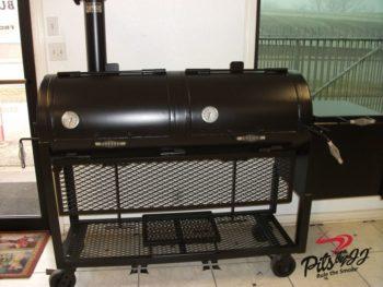 bbq pits by jj 24x60 Smoker