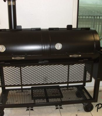 bbq pits by jj 24x60 Smoker